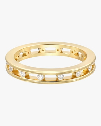 Petite Tri-Channel Eternity Ring