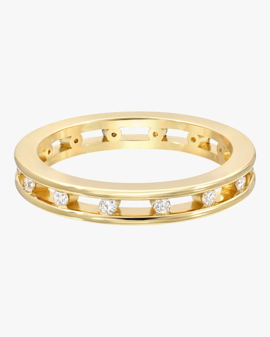Era Petite Tri-Channel Eternity Ring 0