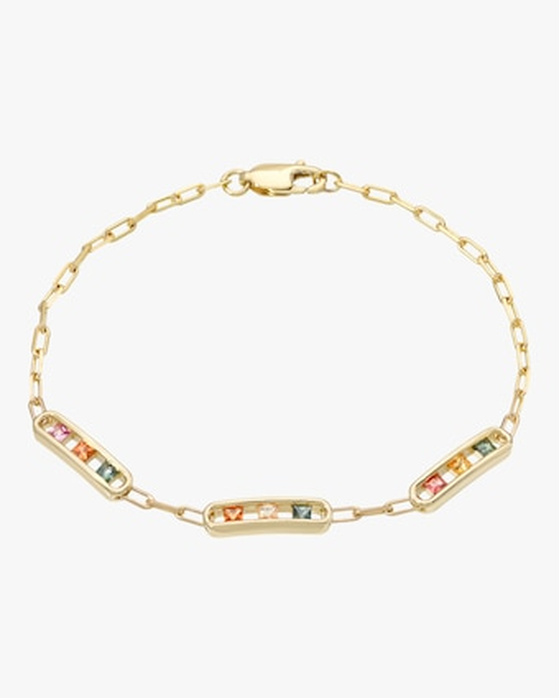 Tri-Channel Link Bracelet