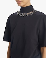 Christopher Kane Chain Tie-Neck Shirt 3