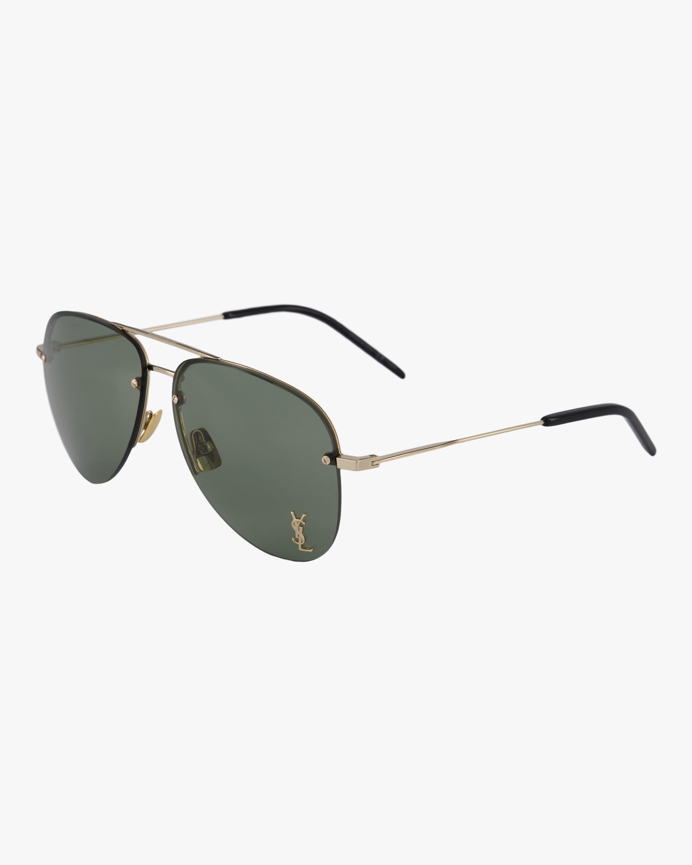 Saint Laurent Pilot Aviator Sunglasses 1