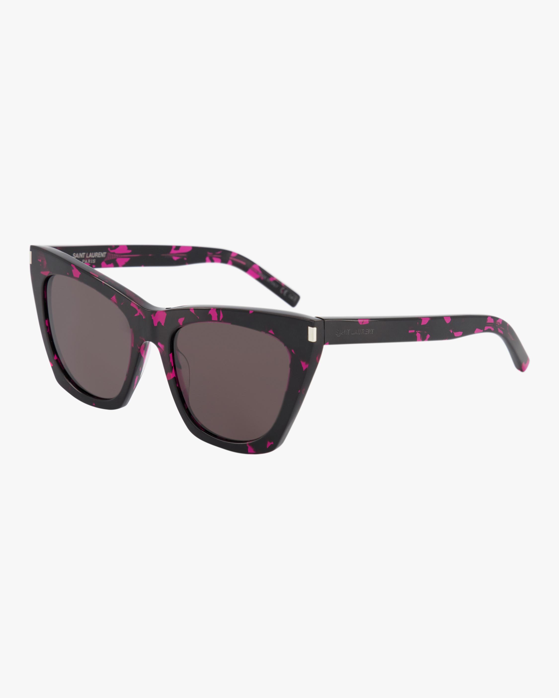 Saint Laurent Kate Cat-Eye Sunglasses 1