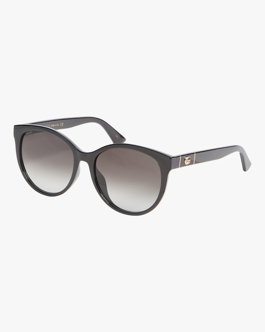 Gucci Injection Cat-Eye Sunglasses 0