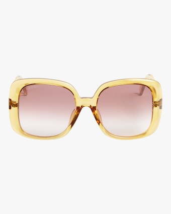 Gucci Transparent Oversized Sunglasses 1