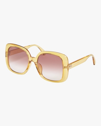 Gucci Transparent Oversized Sunglasses 2
