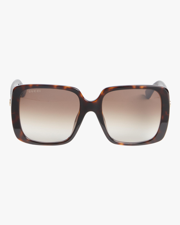 Injection Oversized Sunglasses