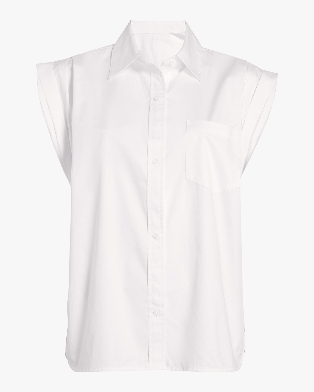 Drop Shoulder Button-Up