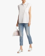 7 For All Mankind Drop Shoulder Button-Up 1