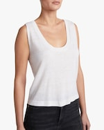 7 For All Mankind Vintage Crop Tank 3