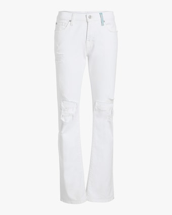 Low-Rise Straight Jeans