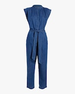 7 For All Mankind Sleeveless Jumpsuit 0