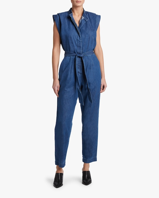 7 For All Mankind Sleeveless Jumpsuit 1