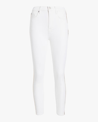 High-Waisted Ankle Skinny Jeans