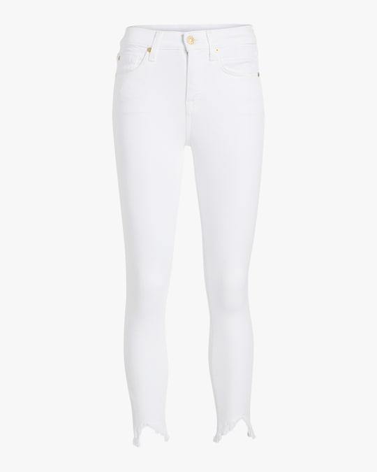 7 For All Mankind Ankle Skinny Jeans 0