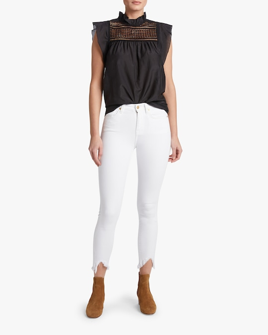 7 For All Mankind Ankle Skinny Jeans 1
