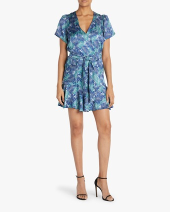 Emma Surplice Mini Dress