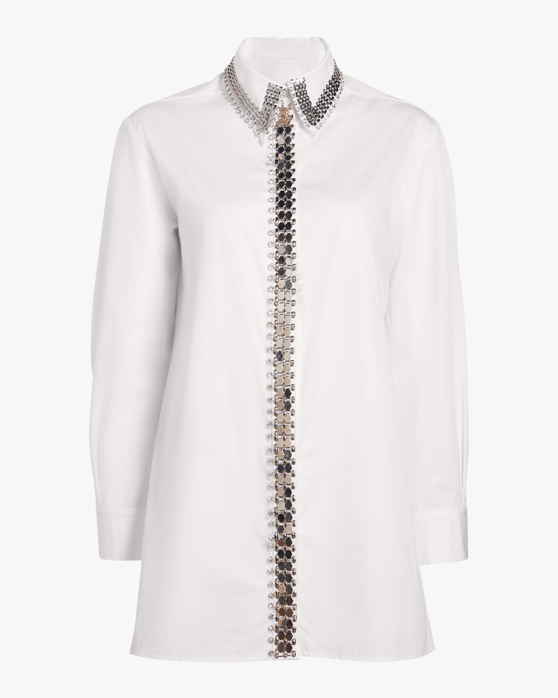 Chain-Accent Shirt