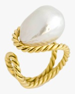 Haute Victoire Baroque Pearl Ring 0