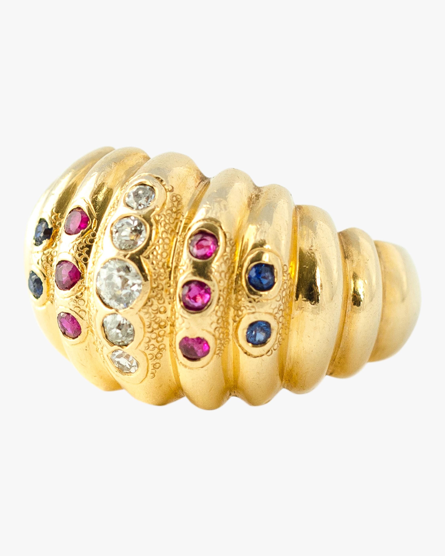Haute Victoire Diamond, Ruby & Sapphire Ring 0