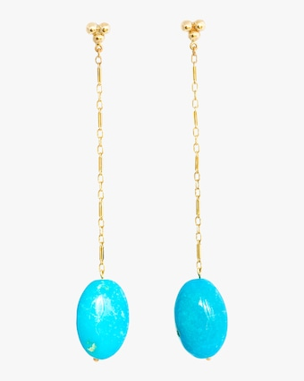 Haute Victoire Turquoise Drop Earrings 1