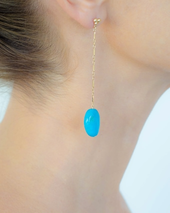 Haute Victoire Turquoise Drop Earrings 2
