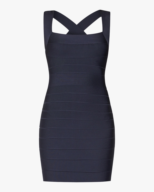 Open-Back Mini Dress