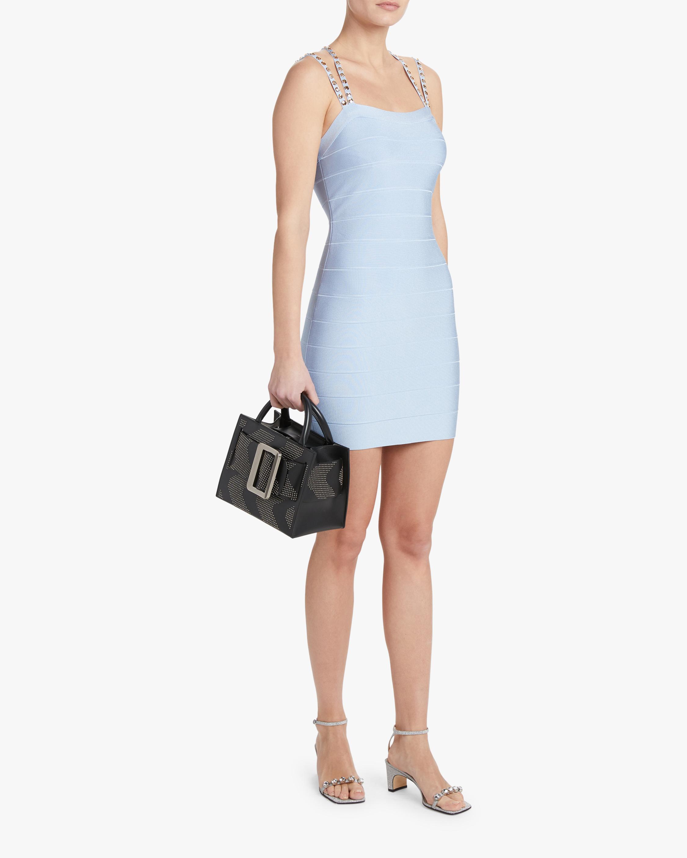 Crystal Strappy Mini Dress