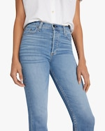 ASKK High-Rise Straight Cropped Jeans 3