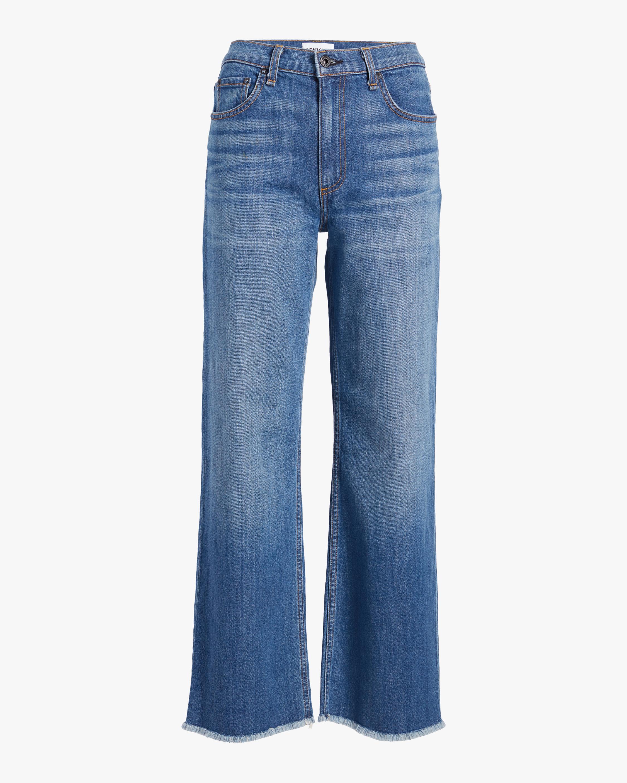ASKK Cropped Wide-Leg Jeans 0