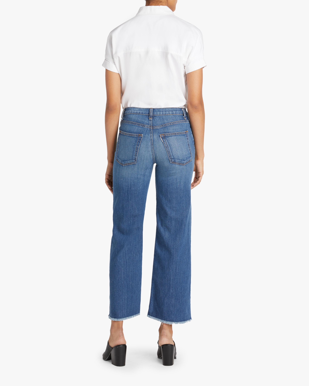 ASKK Cropped Wide-Leg Jeans 2