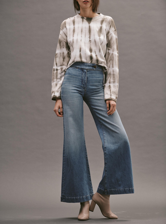 ASKK 70's Wide-Leg Jeans 1