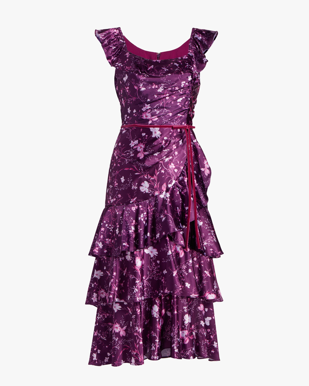 Charm Ruffle Cocktail Dress