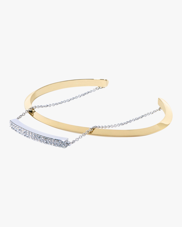 Pavé Pre-Layered Cuff Bracelet