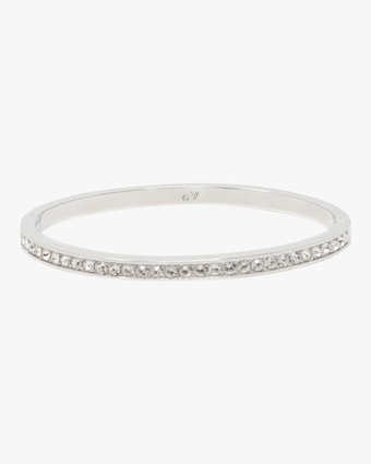 Crystal Hinged Bangle