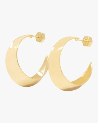 Sculpture Hoop Earrings