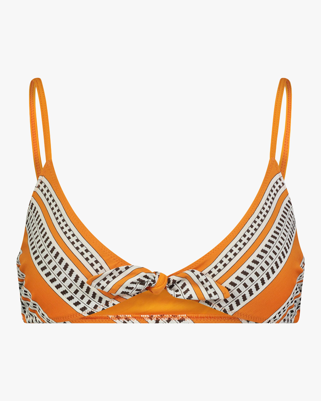 Lem Lem Amira Tie-Front Bikini Top 0