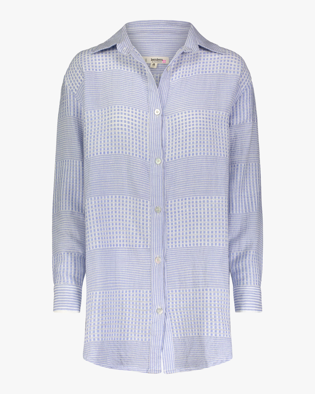 Semira Sky Shirt Dress