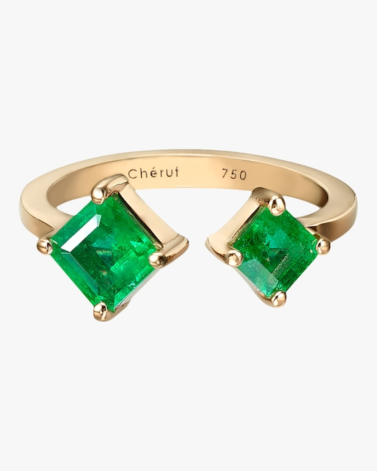 Chérut Duo Square Ring 0