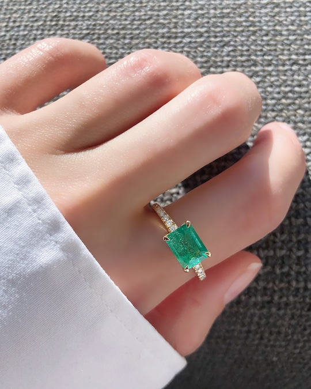 Chérut Large Rectangle Ring 1