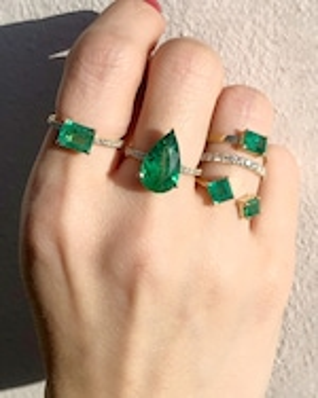 Chérut Large Rectangle Ring 2