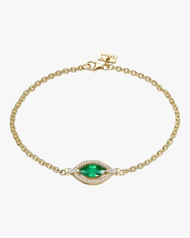 Chérut Holy Marquise Emerald Bracelet 1
