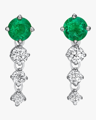 Chérut Round Chained Drop Earrings 1