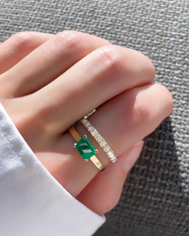 Chérut Square Emerald Ring 2