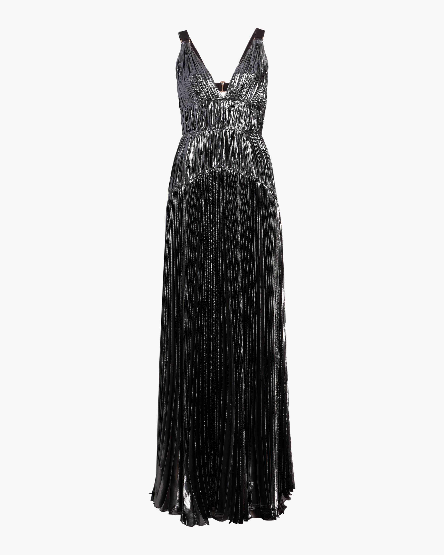 Maria Lucia Hohan Ayana Vneck Sleeveless Gown 1