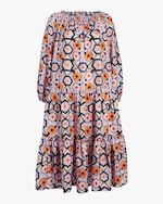 Temperley London Shirred Off-Shoulder Dress 0