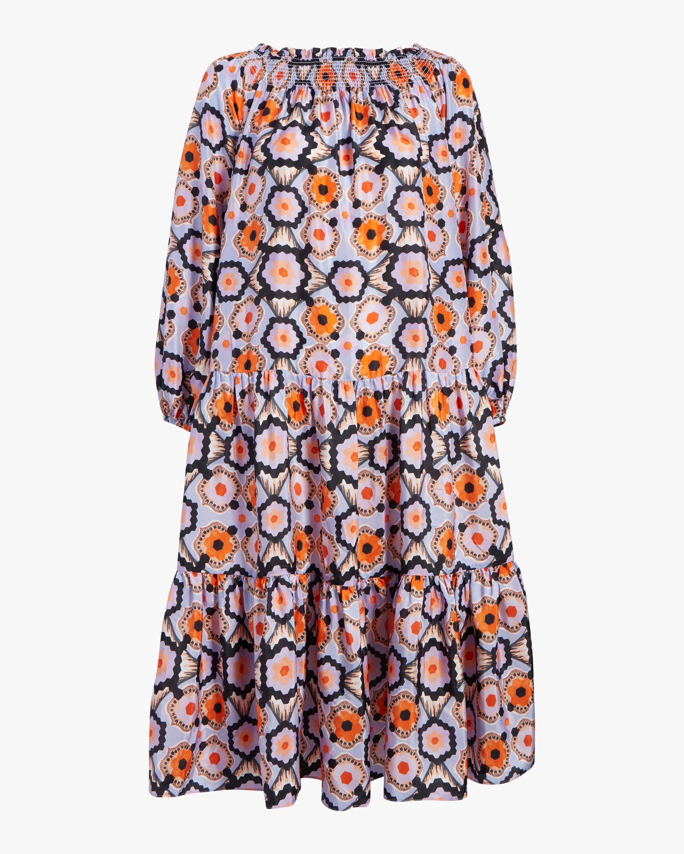 Temperley London Shirred Off-Shoulder Dress 1
