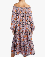 Temperley London Shirred Off-Shoulder Dress 3