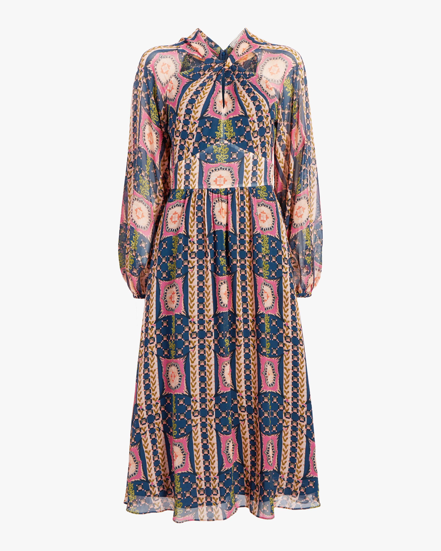 Temperley London Etoile Twist Midi Dress 1