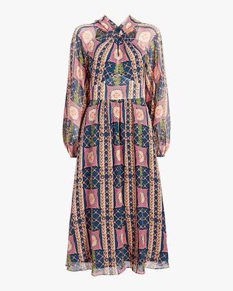 Temperley London Etoile Twist Midi Dress 1