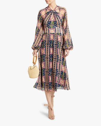Temperley London Etoile Twist Midi Dress 2